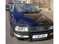 Audi Convertible 1999, Galv Body, VGC, Metallic Blue, Electric Roof, MOT to March 2017 £695ono
