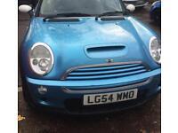 Mini Cooper sport blue