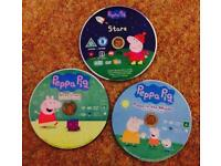 Peppa Pig & Playschool dvds