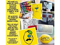 SIGNS / VINYLS / STICKERS / T-SHIRTS