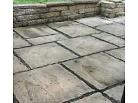 Paving for garden patio . Good condition