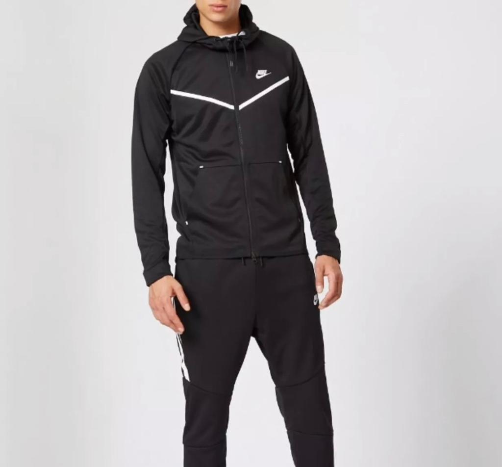 3a8bed6e9c3c Men s Nike Poly Tracksuit Black Brand New L M JD Sports
