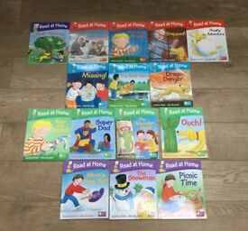 Oxford read at home childrens books level, 1,2,3,4