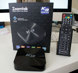 THE K9 ANDROID QUAD CORE SMART TV BOX YOUR BEST CHOICE