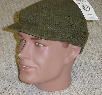 MASH US Army Military USMC Knit Hat Cap NEW Made in USA with P38 Can Opener