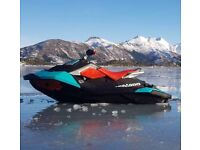 Seadoo Spark Trixx 2017 with 9 months old trailer SBS and extras