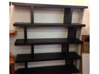 shelve shelf shelving Ikea black