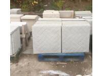 Brick/block Paving effect 2x2 concrete slabs