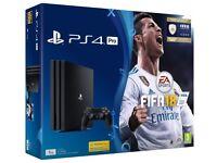 PS4 PRO 1TB EXCELLENT CONDITION + 2 GAMES