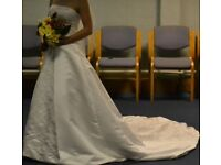 Stunning wedding dress size 6-8