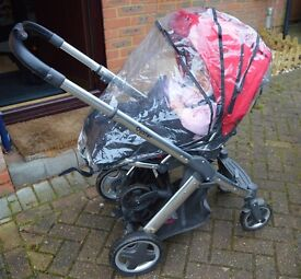 Oyster with Carrycot, Maxi Cosi Pebble & extras