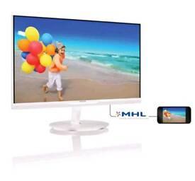 Philips White monitor Full Hd