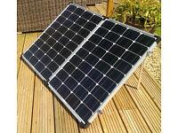 Brand New 150W foldable solar panel KITS READY to GO!caravans, motorhomes, boats