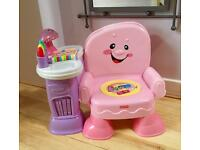 Fisher Price Baby / toddler musical story chair, all lights and sounds working.
