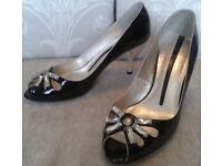 moda in pelle gorgeous ladies evening court shoes