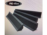 Pro Acoustic Foam Bass Traps - Bundle £50