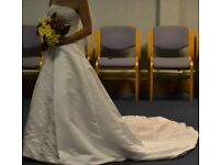 Stunning wedding dress size 6-8