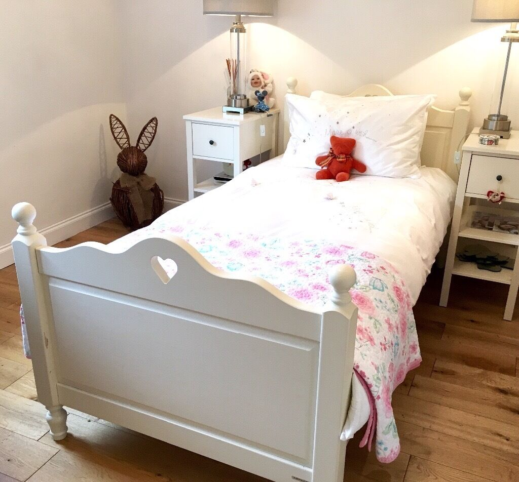 Aspace Antique White Wooden Single Bed In Bothwell Glasgow Gumtree