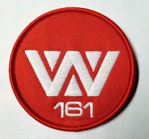 """ALIEN Movie-Red 161Weyland Yutani 3"""" Round Uniform Patch- USA Mailed (ALPA-W161)"""