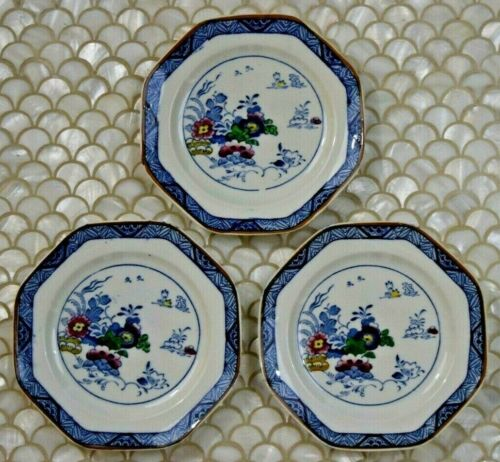"""Booths Vintage Silicon China NETHERLANDS Small Side Saucer Dessert Plate 6 3/4"""""""
