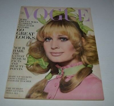 Vogue Magazine ~ March 1 , 1969 ~ The Beatles John lennon