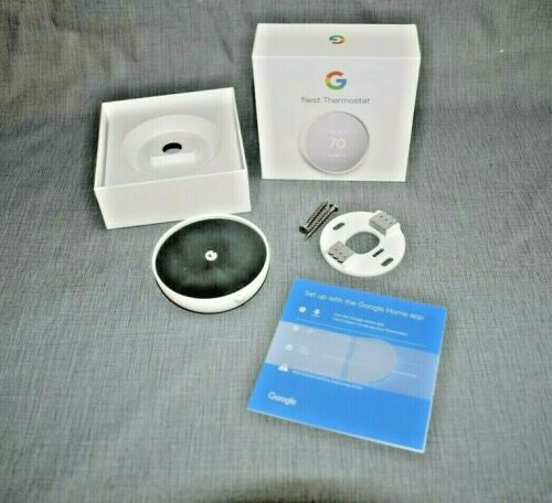 Google Nest Smart Thermostat - White