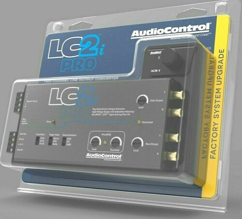 AudioControl LC2i PRO 2-channel line output converter with AccuBASS™ NEW