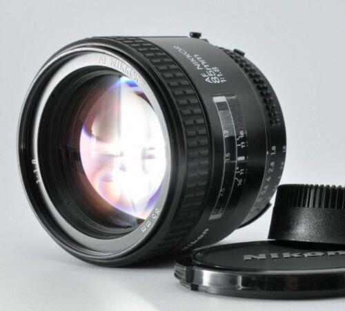 NEAR MINT Nikon AF NIKKOR 85mm f/1.8 portrait prime AF lens w/ caps JAPAN by DHL