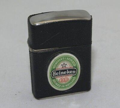 Vintage Heineken's Breweries Petrol Lighter made in Austria
