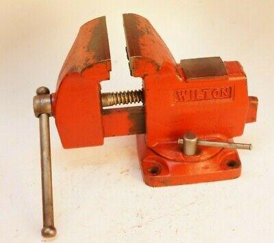 Wilton Usa Mechanics Utility Bench Vise W Swivel Base 4jaws 3-34 Opening