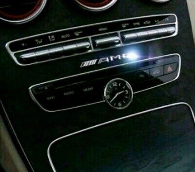 3d Chrom AMG/Auto Emblem  Aufkleber Innen Außen für MERCEDES-BENZ.