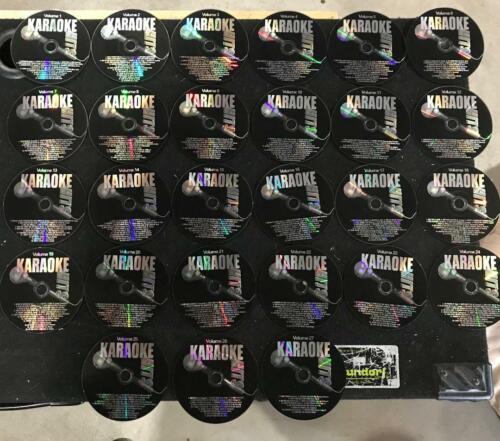 Karaoke Hits 27 Disc Set CG+G - Lots of good standard songs!