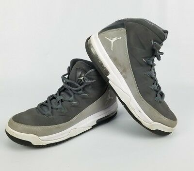 Jordan Air Deluxe Gs Big Kids 807718-003 Grey White Basketball Shoes Size 6Y