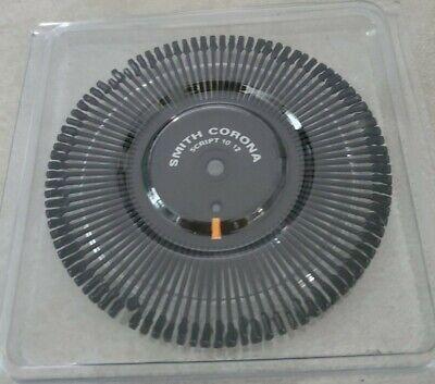 Vintage Smith Corona Print Wheel Script 1012 New In Package