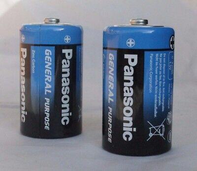 24 x Panasonic Batterien Batterie 1,5 Volt R20 1.5 V MONO Zellen D LR20
