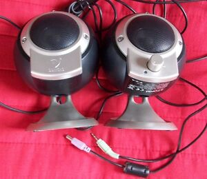 STORM-Diamond-Audio-NECCI-multimedia-PC-laptop-speakers-3W-Ch-Packard-Bell-used