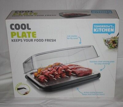 Tomorrow's Kitchen Cool Plate Keeps your food fresh NEW in package