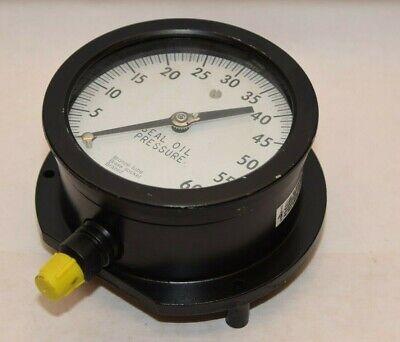 Ashcroft 0-60psi 4 Face Duragauge Seal Oil Pressure Gauge New