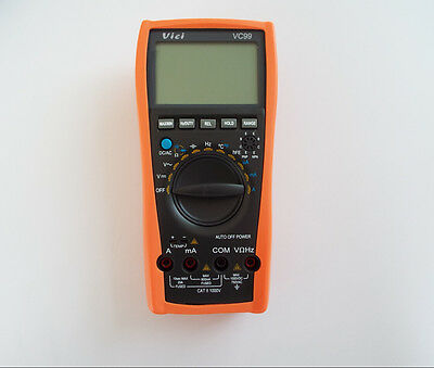 Vc99 3 67 Multimeter Auto Range Compared W Fluke 17b