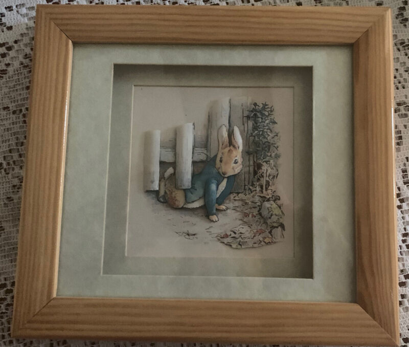 The World Of  Beatrix Potter Decoupage  Living Pictures With Box