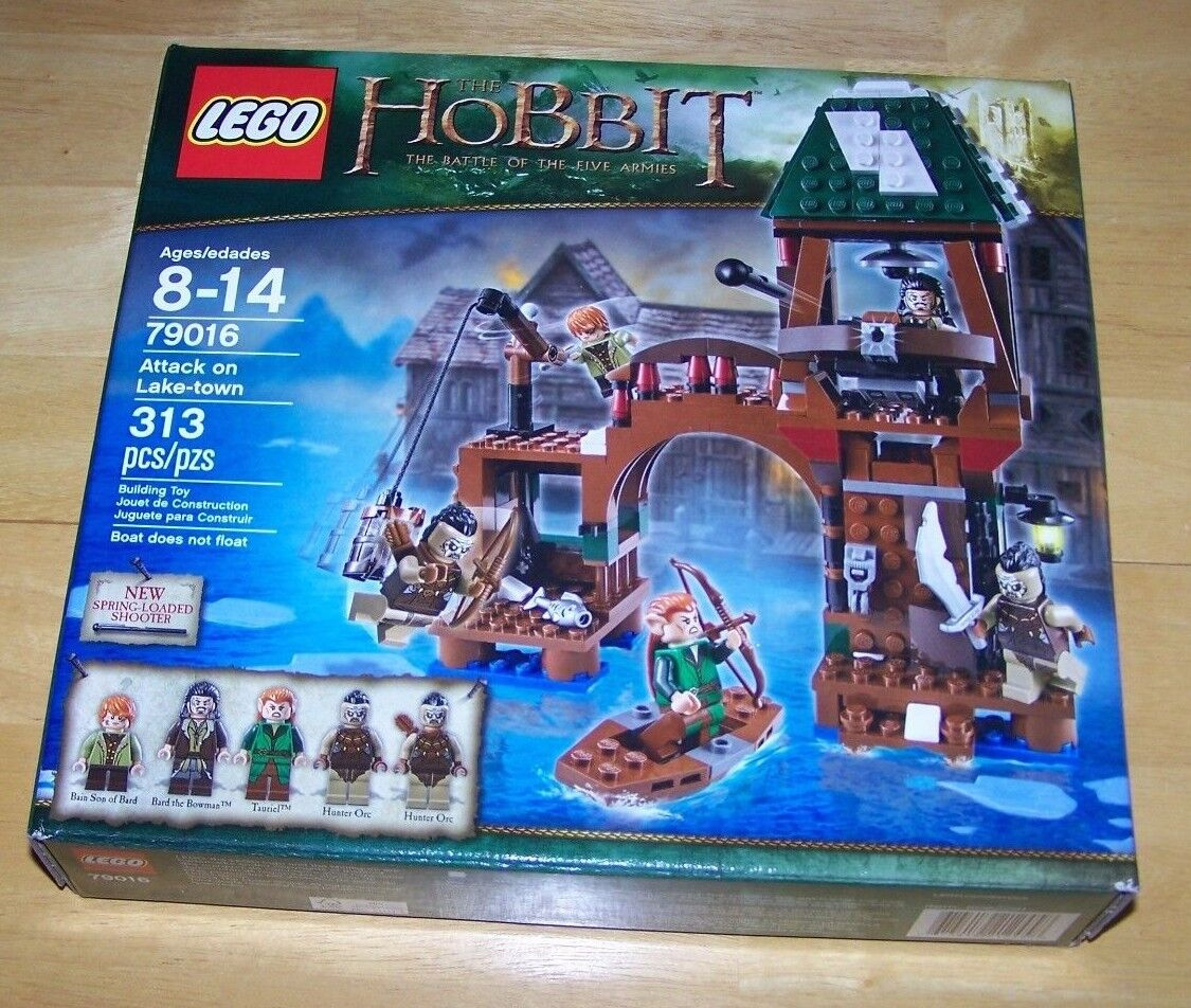 Lego - LEGO THE HOBBIT ATTACK ON LAKE-TOWN BRAND NEW FACTORY SEALED 79016