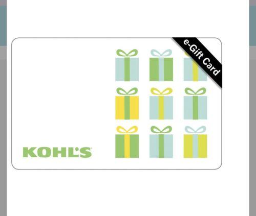 Kohl s Gift Card 150 - $130.00