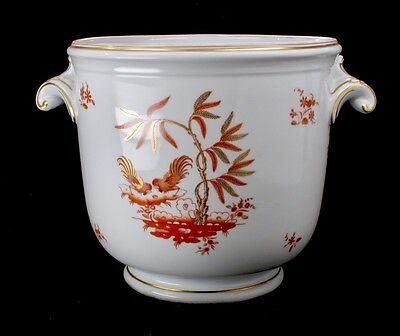 "Richard Ginori Large Porcelain Planter Jardiniere Cachepot 9""dia x10""tall"