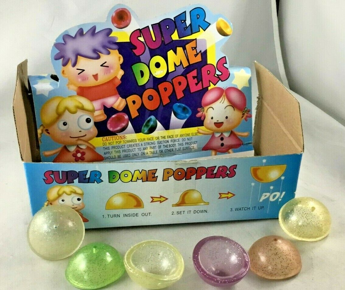 party favors super dome poppers novelty fun