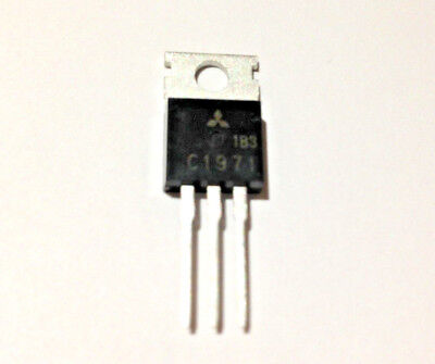 5 Pieces 2sc1971 C1971 Rf Power Transistor New Original Mitsubishi
