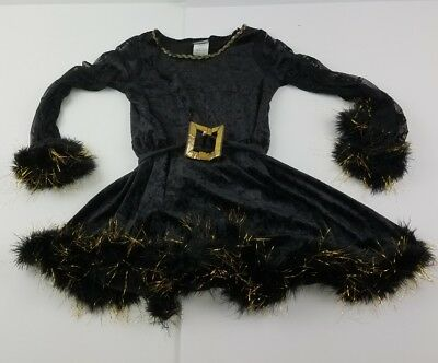 Goth Gothic Girl  Witch Dress California Costume Collection Size Large Outfit P](Goth Girl Costumes)