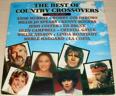 The Best Of Country Crossovers Volume Two Album 1979 Excelsior Xlp 88001