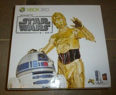 Microsoft Xbox 360 Kinect Star Wars Limited Edition 320GB White Console