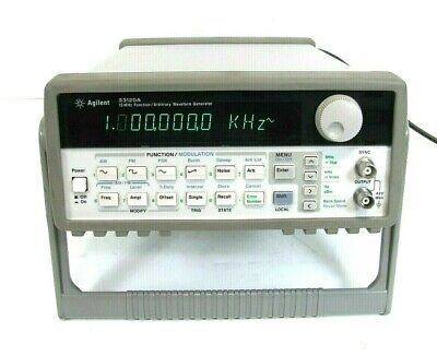 Agilent 33120a 15mhz Function Arbitrary Waveform Generator Free Ship