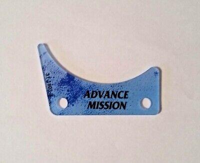 Star Trek The Next Generation Pinball Machine Advance Mission Plastic 31-1803-3